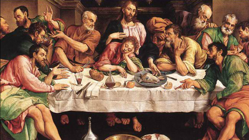 Images of the Last Supper